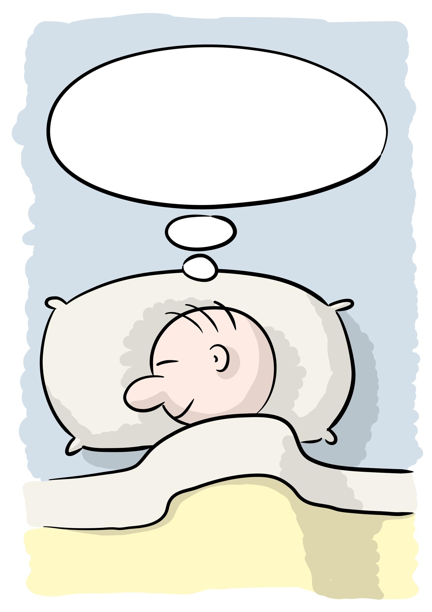 Как рисовать спящих людей